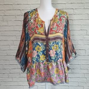 Johnny Was Miranda Blouse NWT